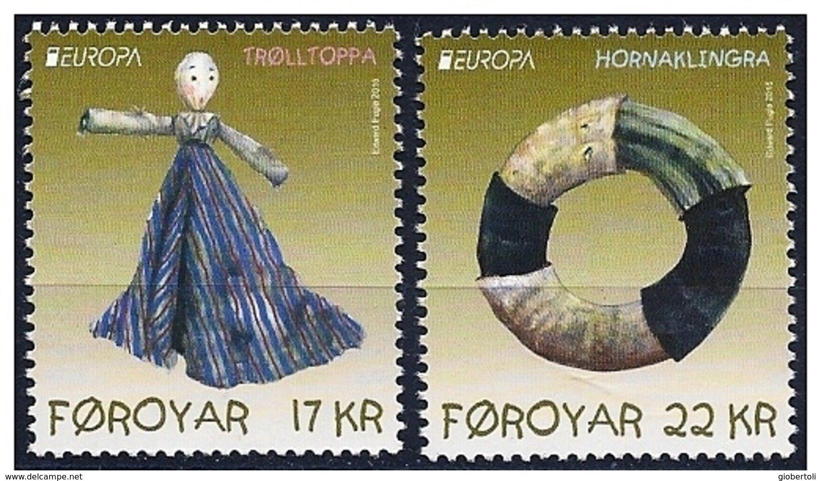 Faroer/Faroe/Féroé: Vecchi Giocattoli, Old Toys, Jouets Anciens - Puppen