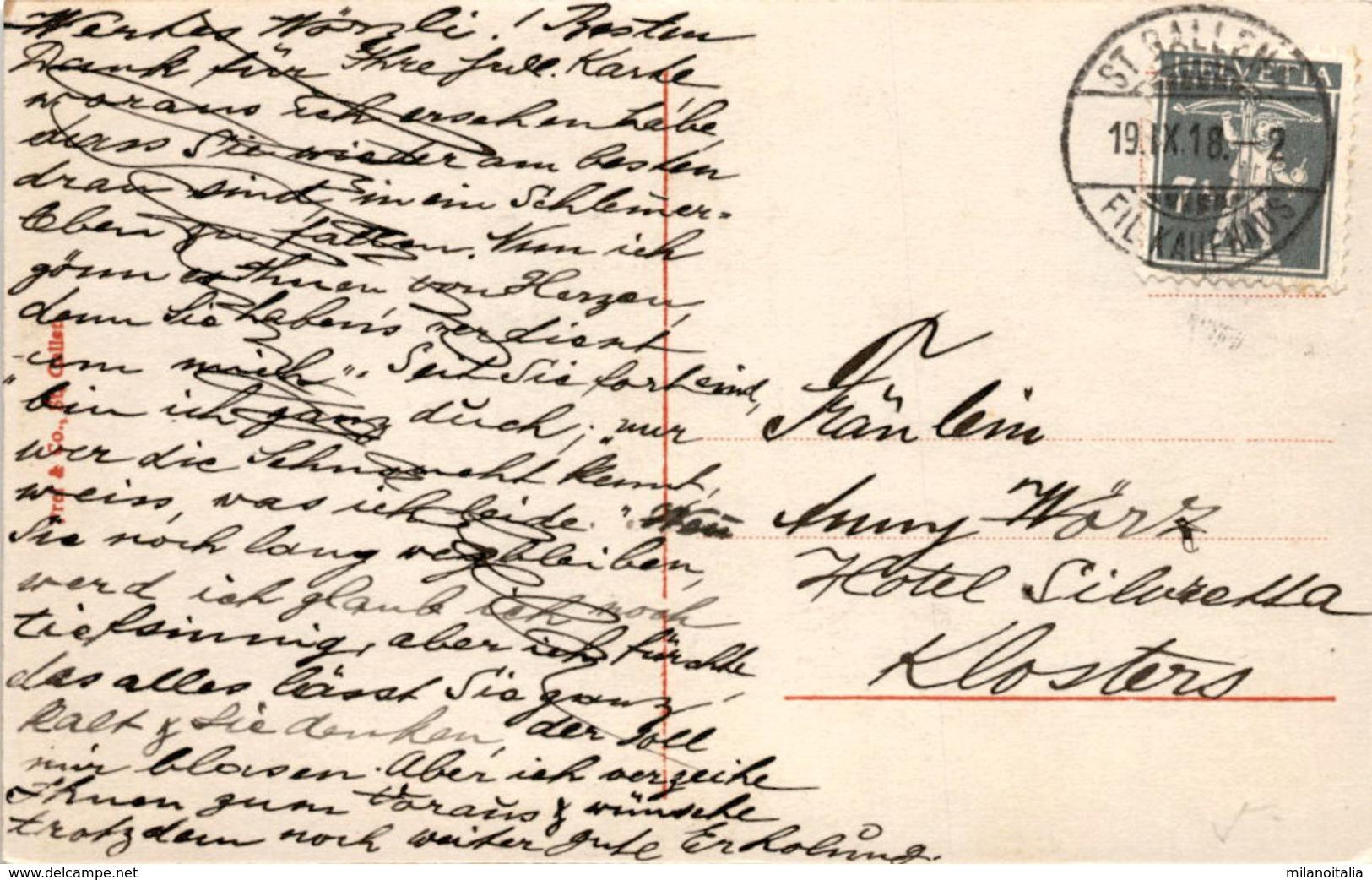 Säntis - Ebenalp V. Aufstieg Z. Alpsiegel (2176) * 19. 9. 1918 - AI Appenzell Innerrhoden