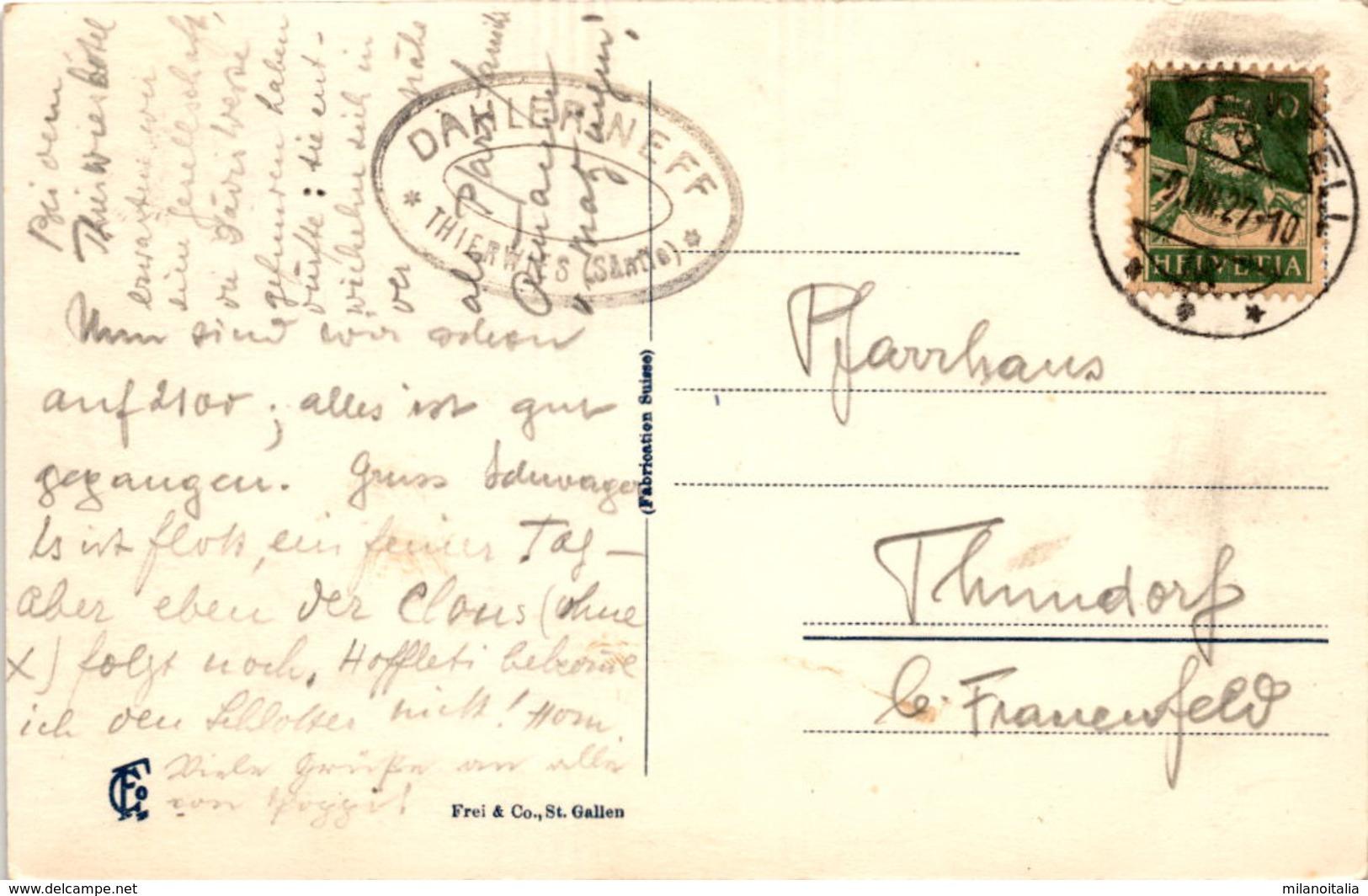 Thierwies (Alpsteingebiet) (5987) * 9. 8. 1927 - AI Appenzell Innerrhoden