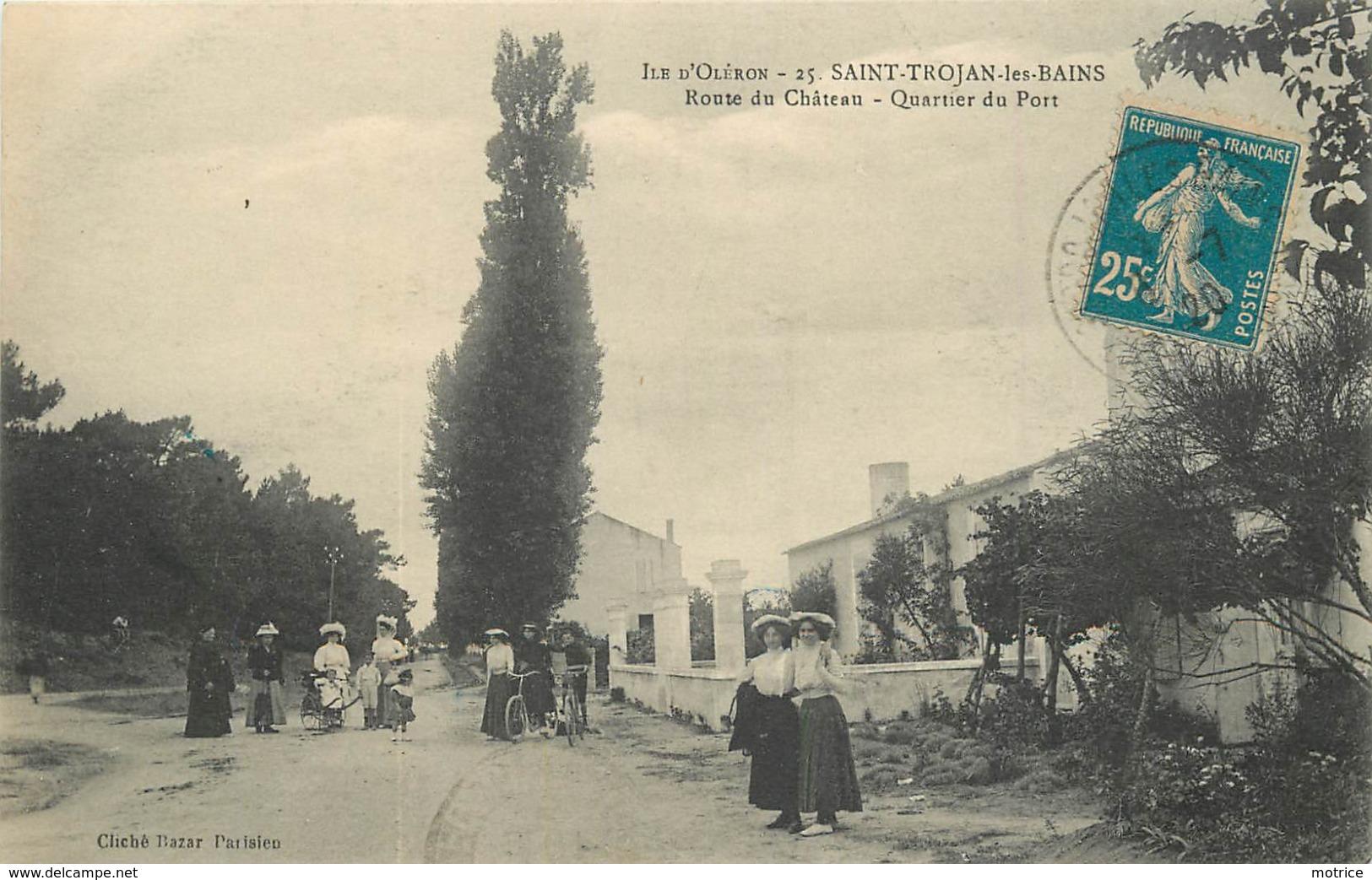 ILE D'OLERON - Saint Trojan Les Bain,route Du Château, Quartier Du Pont. - Ile D'Oléron