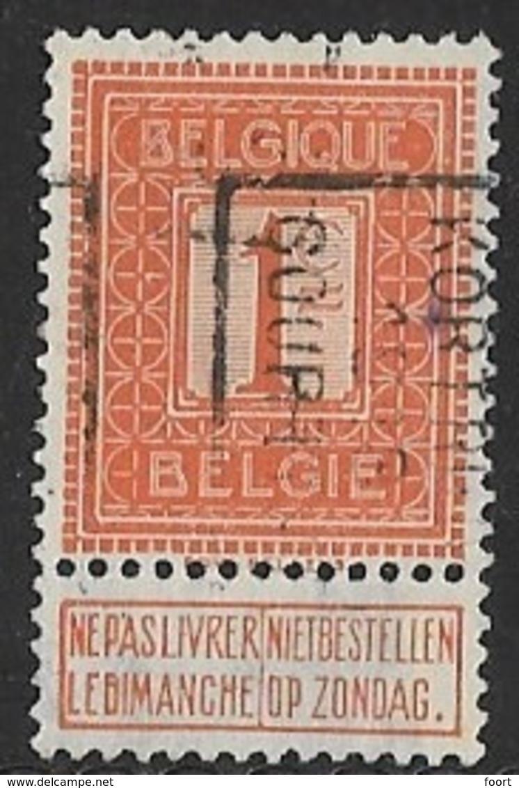 Kortrijk 1913  Nr. 2155B - Roller Precancels 1910-19
