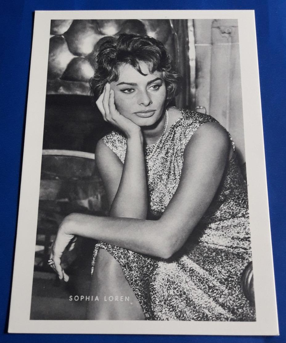 SOPHIA LOREN # Sexy Portrait # KuB-Photo-AK # [19-708] - Schauspieler