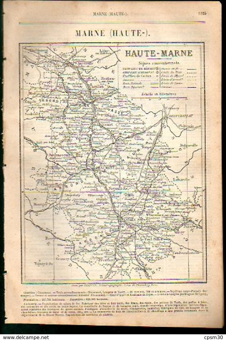 ANNUAIRE - 52 - Département Haute MARNE - Année 1889 - 21 Pages - édition Didot-Bottin - Telephone Directories