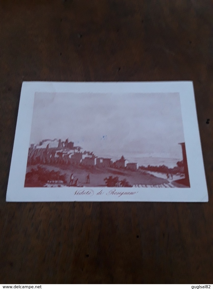 Cartolina Postale 1958, Rosignano, XI Convegno Storico Toscano - Livorno
