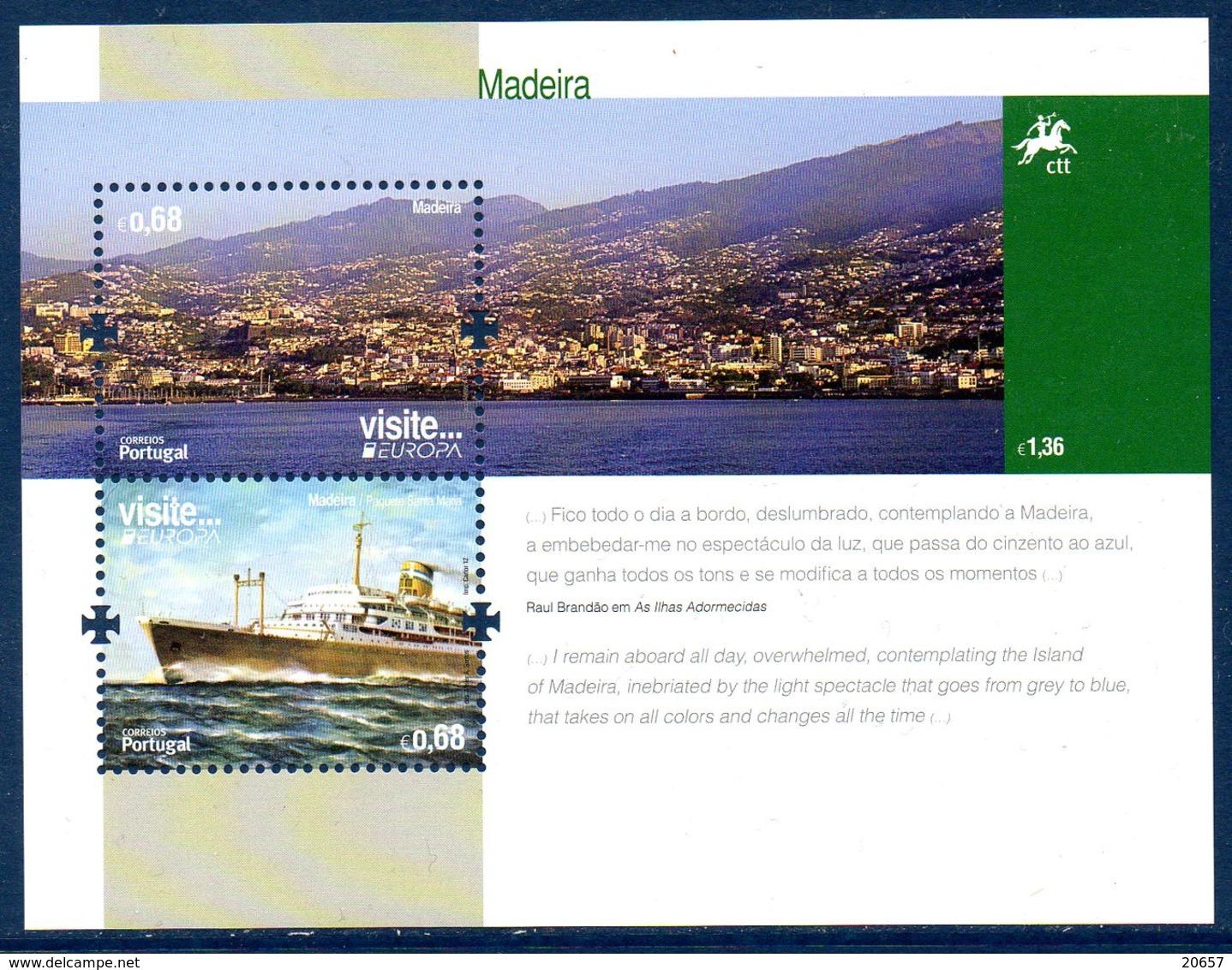 Madère Madeira Portugal 323 Et Bf 052 Europa Bateau - Europa-CEPT