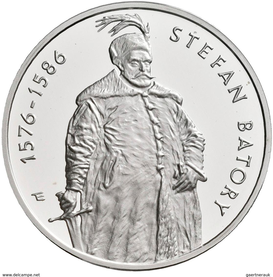 Polen: 10 Zlotych 1997, Stefan Batory, KM# Y 326, Fischer K (10) 012. Polierte Platte. - Pologne