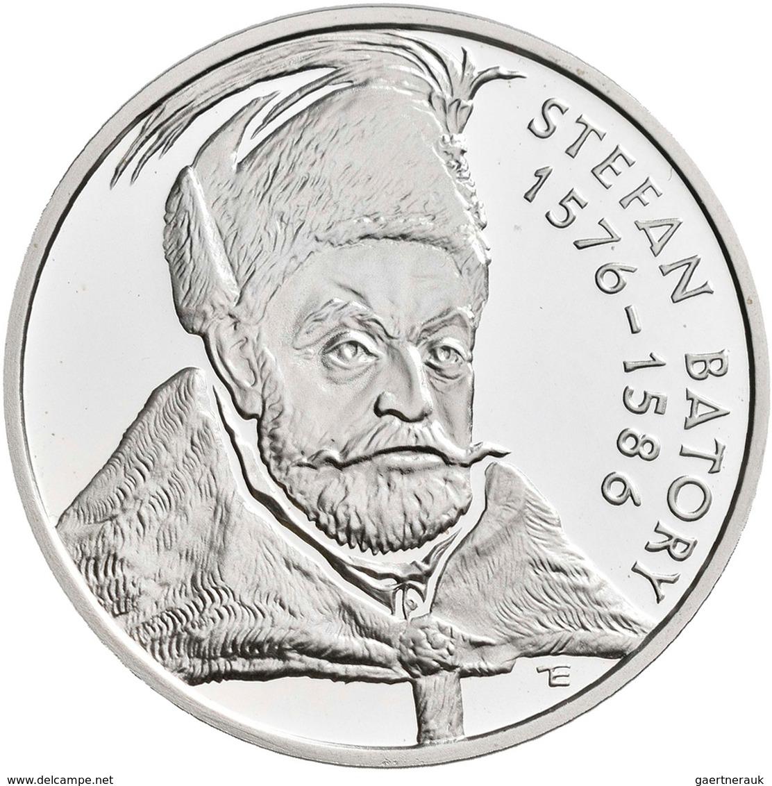 Polen: 10 Zlotych 1997, Stefan Batory, KM# Y 327, Fischer K (10) 011. Polierte Platte. - Pologne