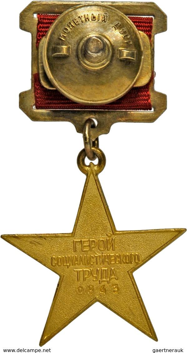 """Orden & Ehrenzeichen: Russland - Sammlung Sowjetische Orden, Medaillen Und Abzeichen """"Polnyj Kavaler - Militaria"""