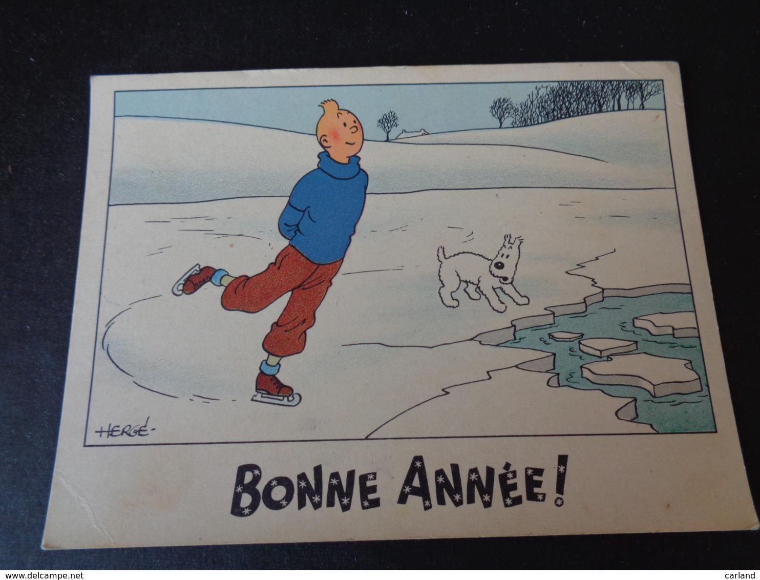Illustrateur ( 1357 )  Hergé  Tintin  Kuifje  Bonne Année - Hergé