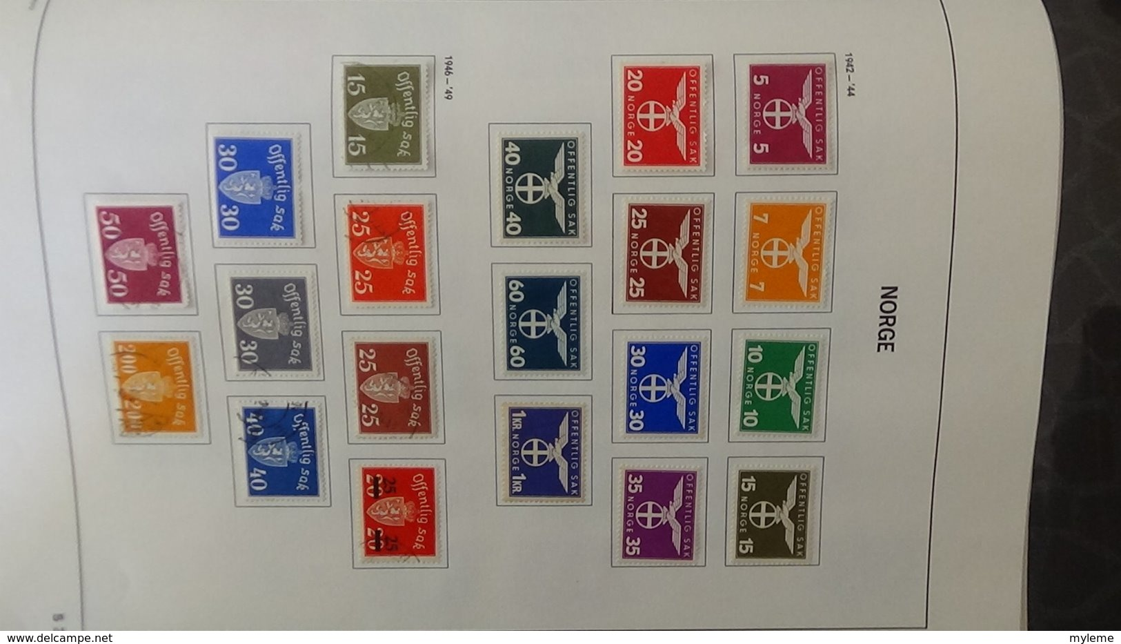 Collection Timbres De NORVEGE  Idéal Pour Thématiques A Saisir !!! - Timbres