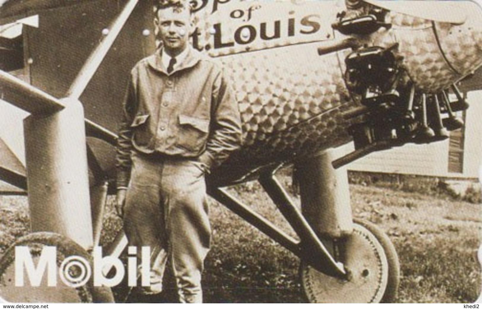 TC Japon / 110-011 - AVION SPIRIT OF SAINT LOUIS & CHARLES LINDBERGH - PLANE Japan Phonecard - Aviation 2299 - Avions