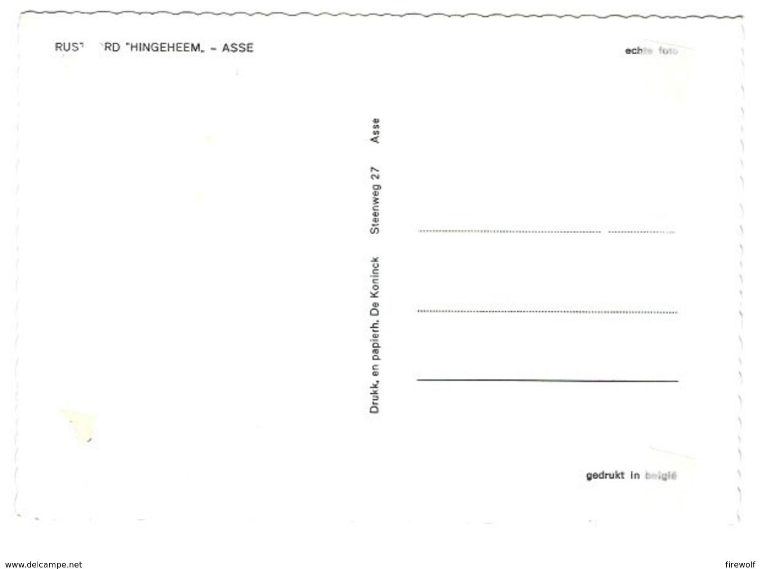 X06 - Asse - Rustoord Hingeheem - Asse