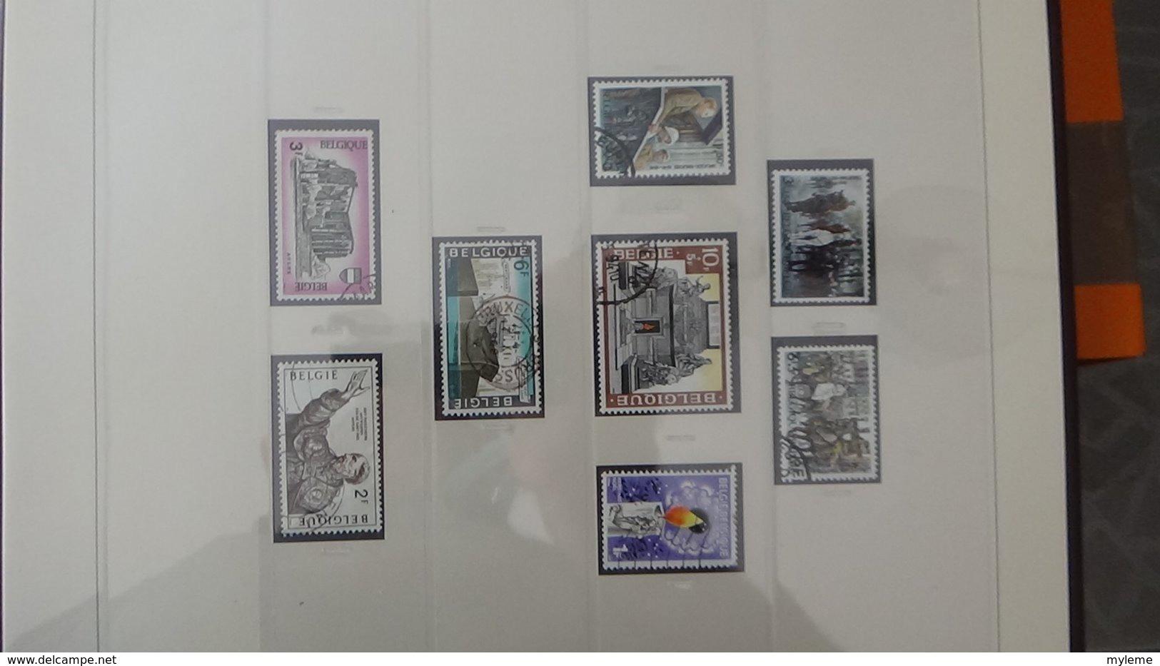 Collection Timbres De BELGIQUE Idéal Pour Thématiques A Saisir !!! - Timbres