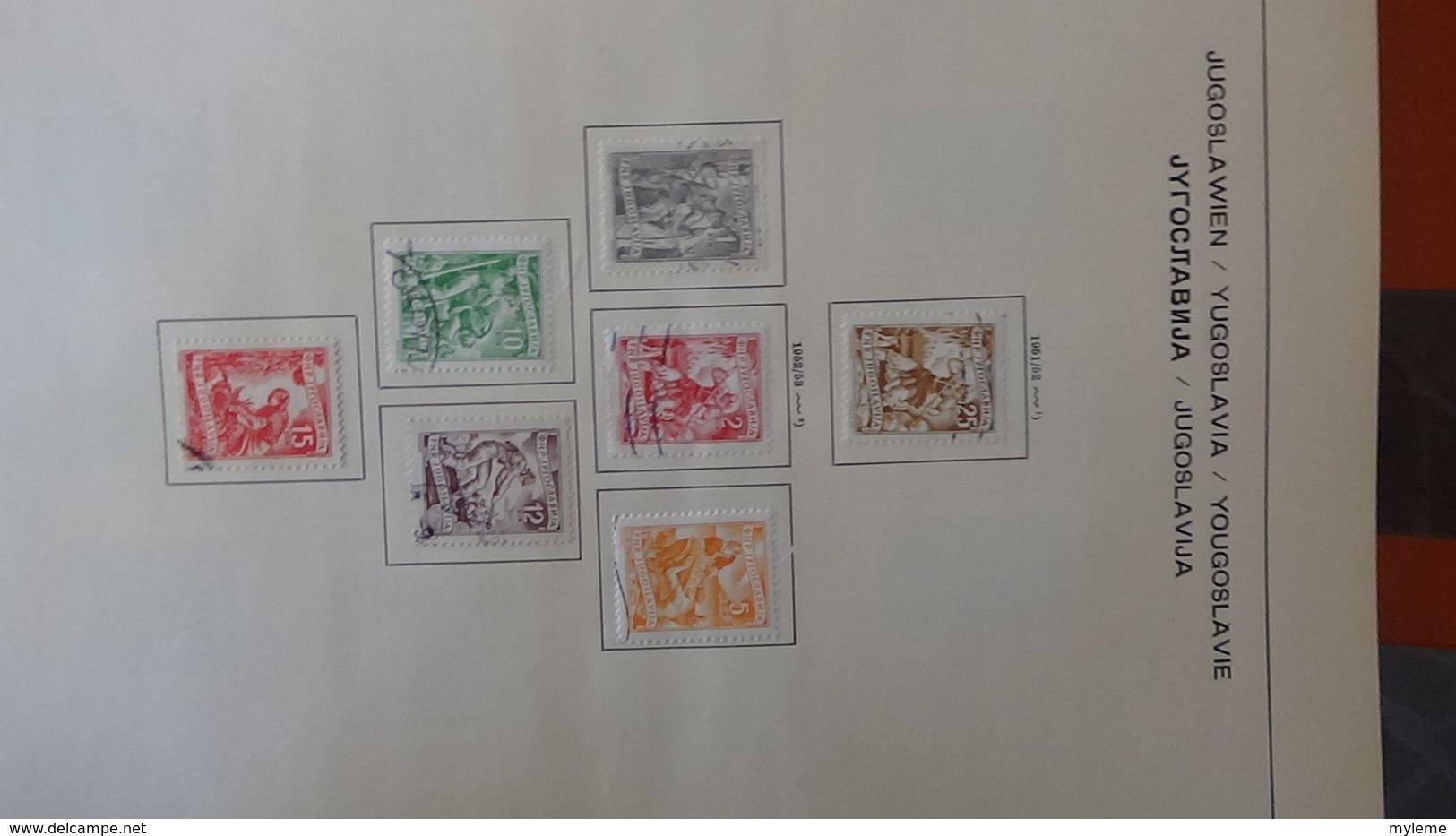 Collection Timbres De YOUGOSLAVIE Idéal Pour Thématiques A Saisir !!! - Timbres