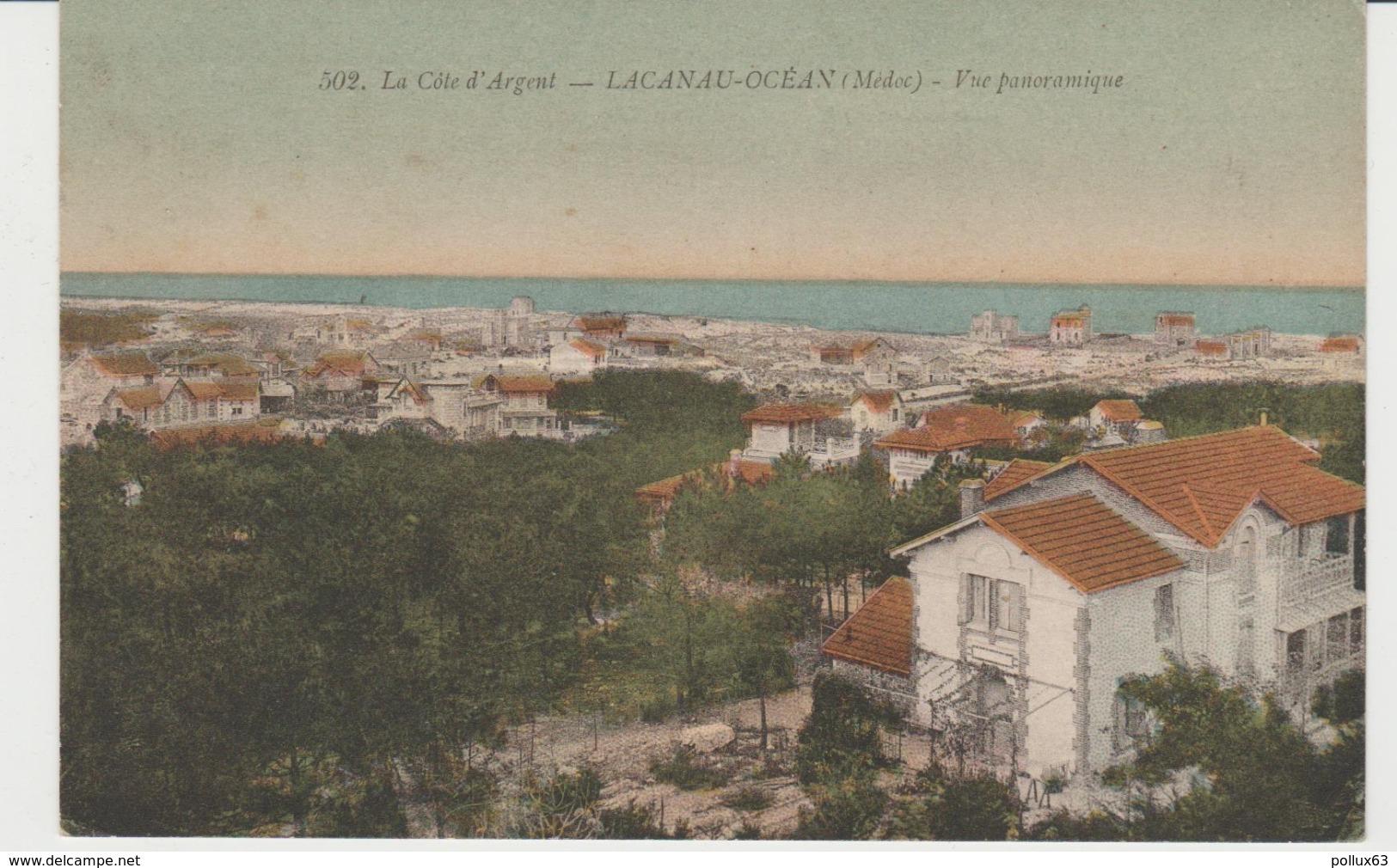 CPA LACANAU-OCEAN (33) VUE PANORAMIQUE - France