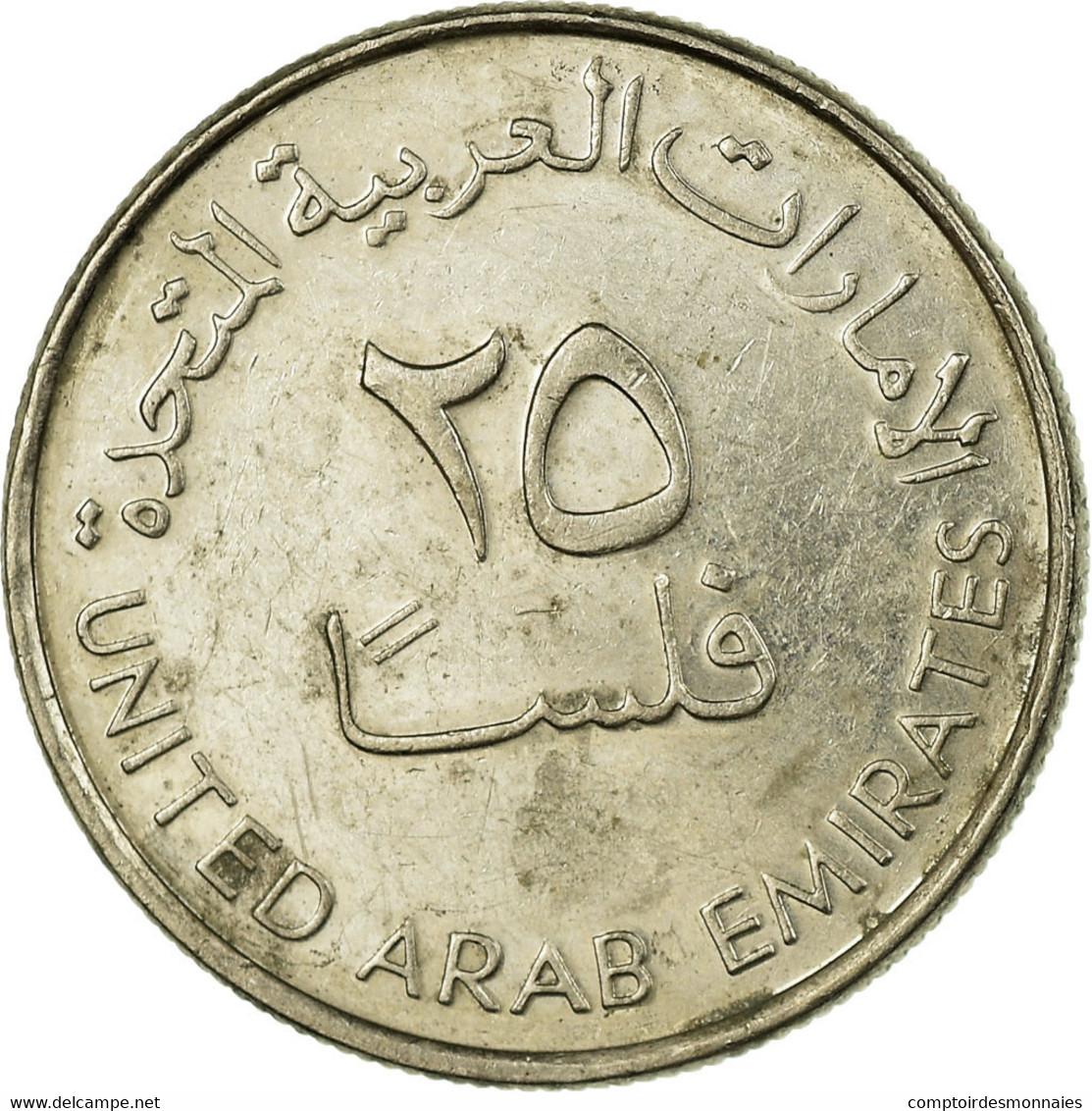 Monnaie, United Arab Emirates, 25 Fils, 2007/AH1428, British Royal Mint, TTB - Emirats Arabes Unis