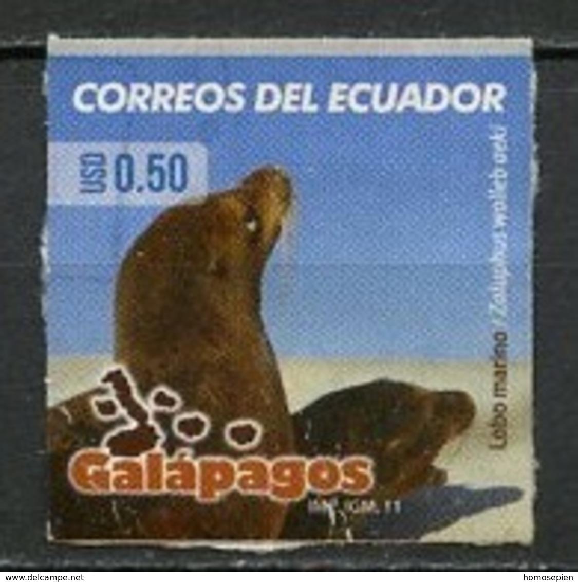 Equateur - Ecuador 2011 Y&T N°2271 - Michel N°(?) Nsg - 0,50u Lion De Mer - Equateur
