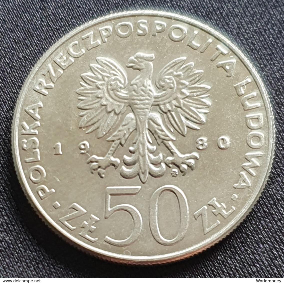 """Poland 50 Zlotych 1980 """"Kazimierz I Odnowiciel""""  - UNC - Pologne"""