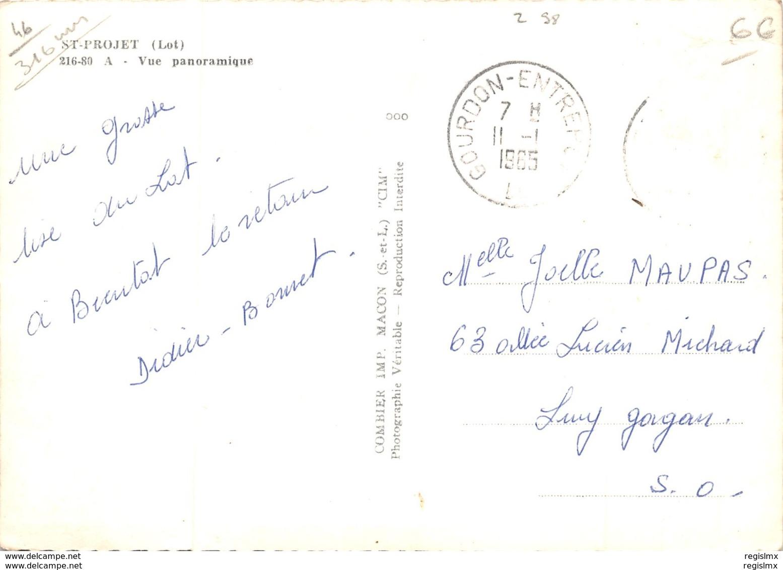 46-SAINT PROJET-N°R-2013-C/0221 - Frankrijk