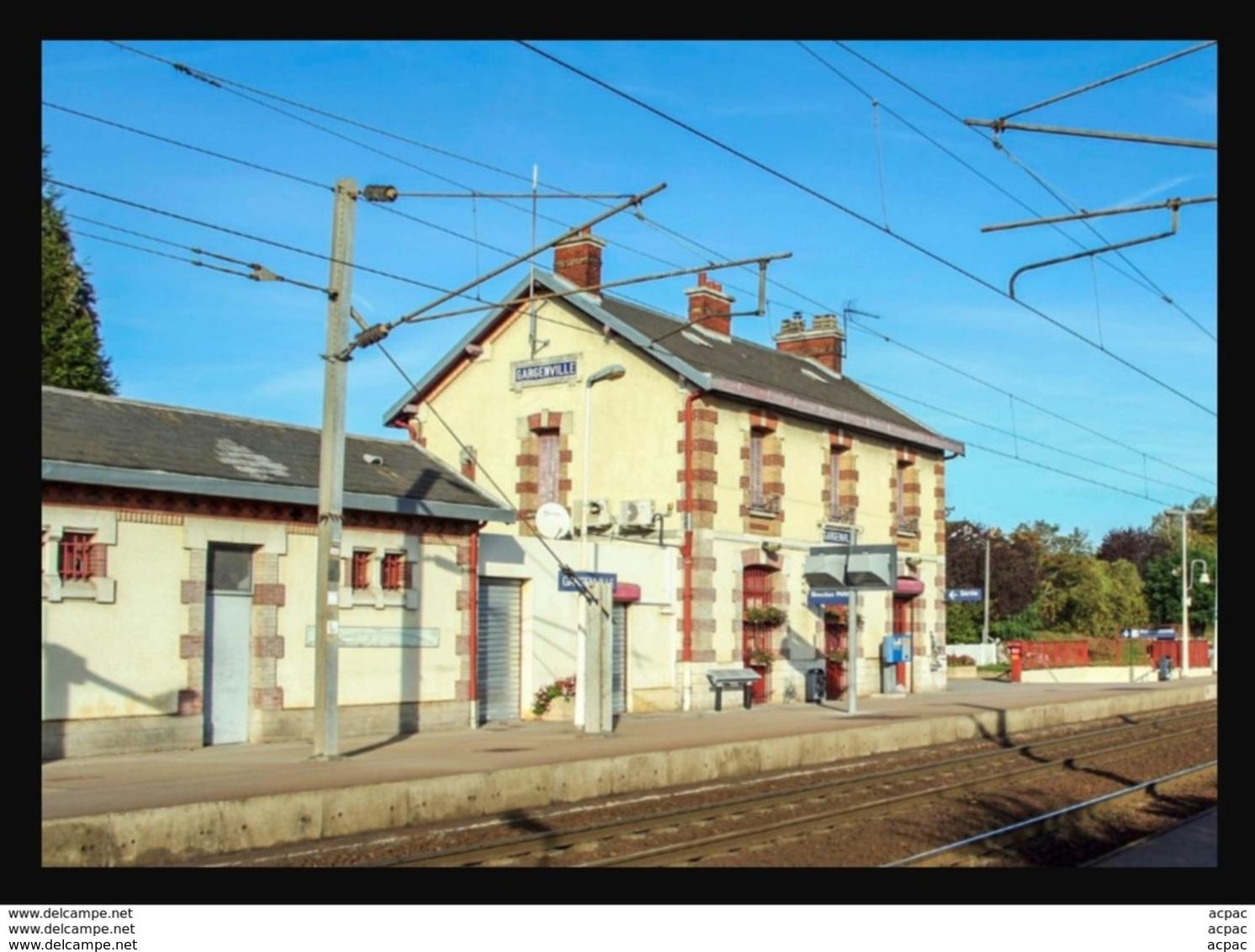 78  GARGENVILLE  ....  La  Gare ... - Gargenville