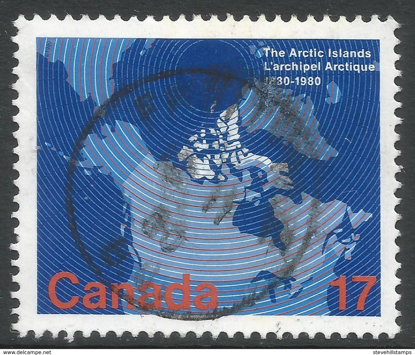 Canada. 1980 Centenary Of Arctic Islands Acquisition. 17c Used. SG 970 - 1952-.... Reign Of Elizabeth II