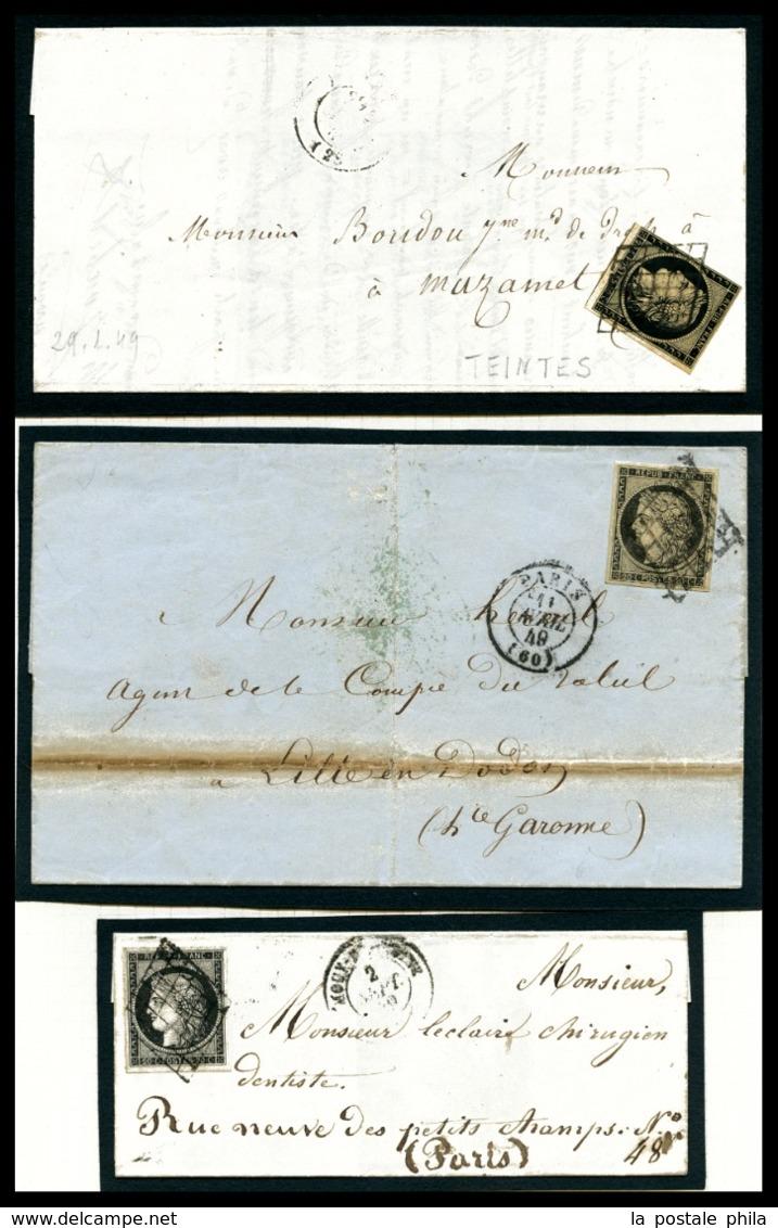 O 20c Cérès: Collection De 31 Exemplaires Dont Nuances, Paires Et Lettres, Très Belle Qualité. SUP  Qualité: O - 1849-1850 Ceres