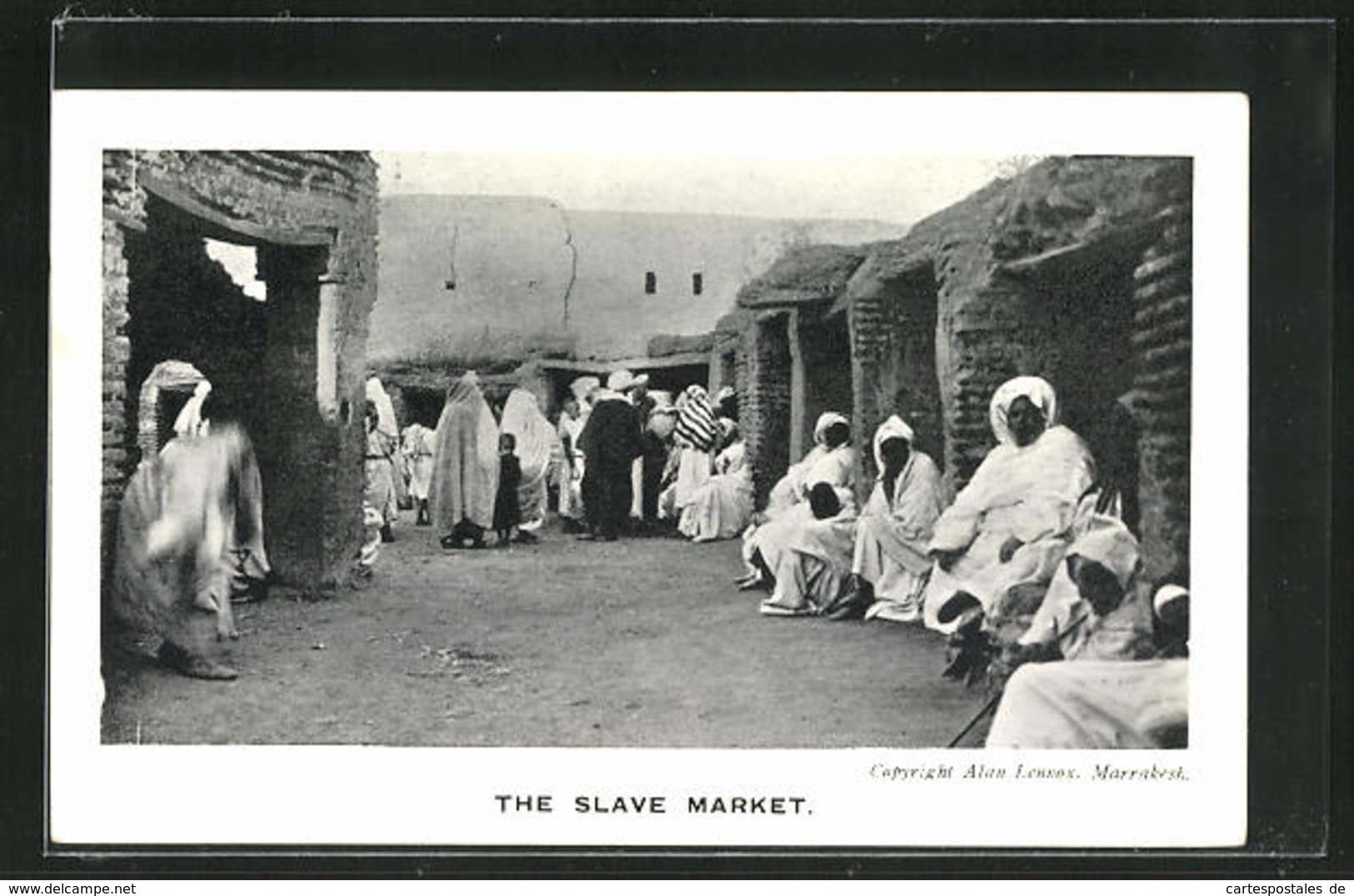 AK Marrakesh, The Slave Market - Ethniques & Cultures