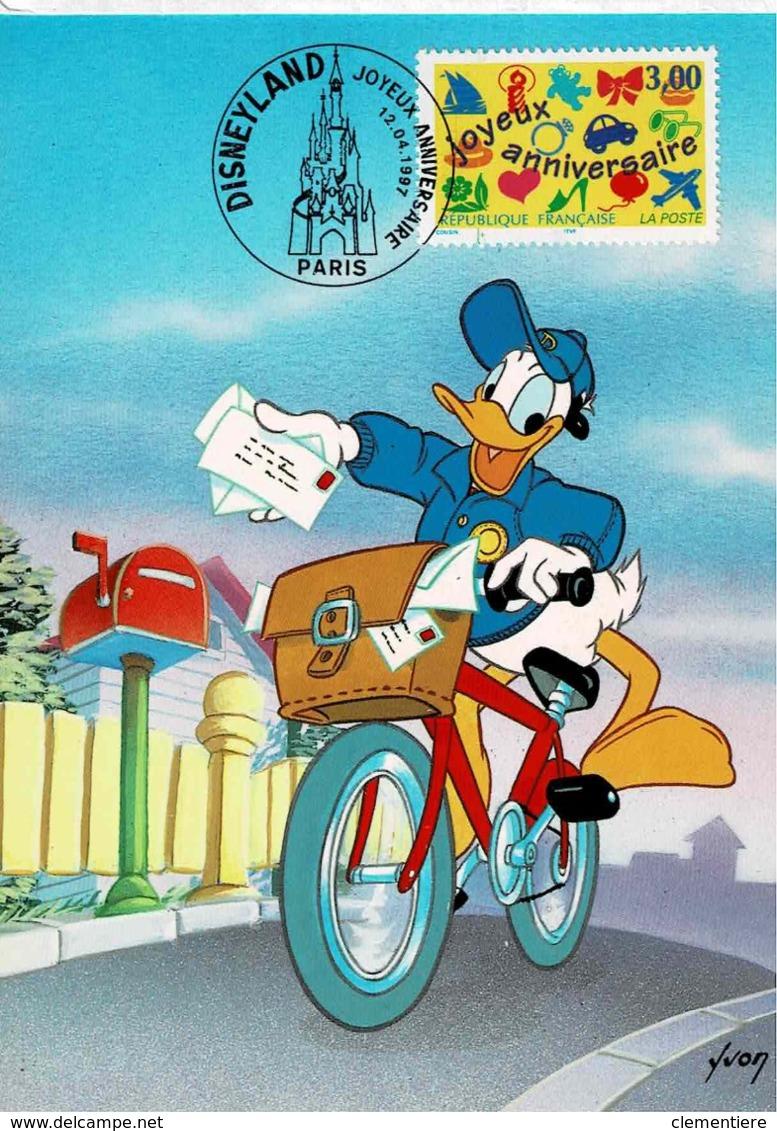 """TP  3046  Seul  Sur Carte Postale """" Donald """" Prêt à Poster Avec Même Timbre Imprimé - 1961-...."""