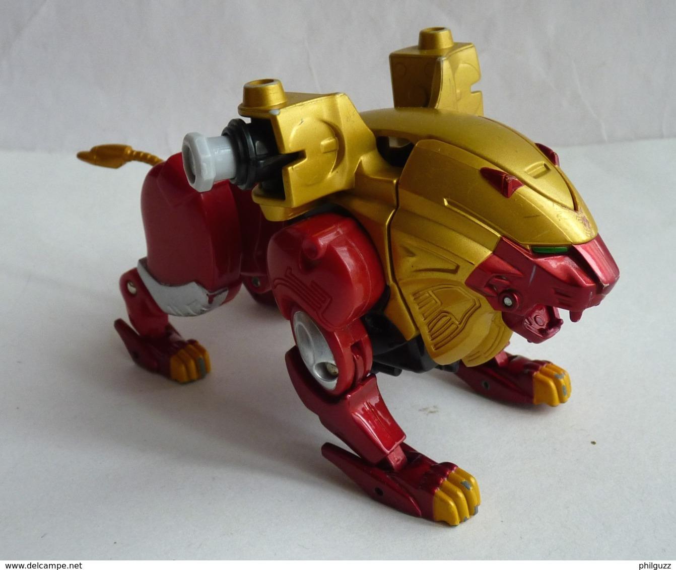 FIGURINE LION ROBOT TRANSFORMERS Origine Inconnue - Figurines