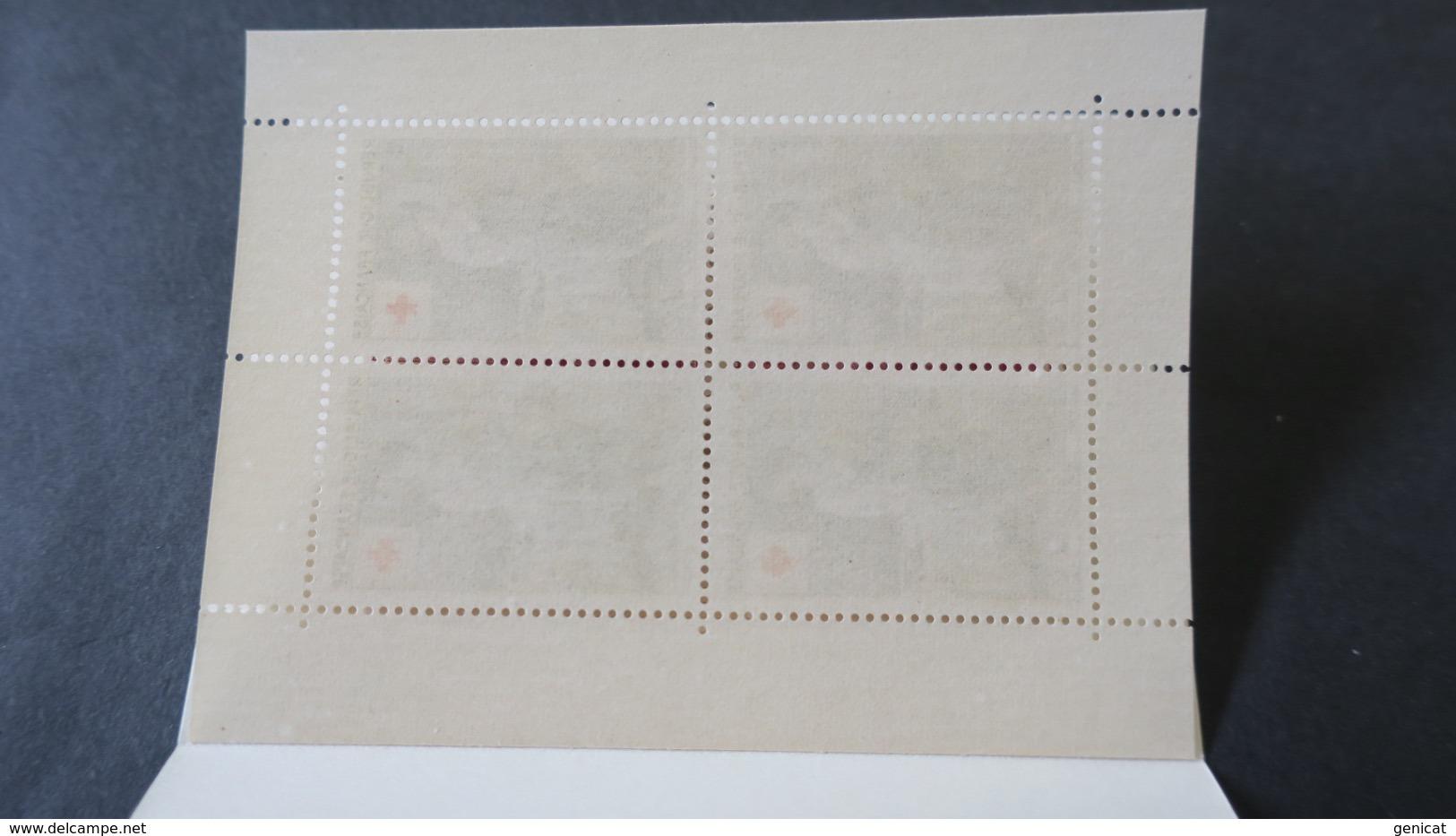 Carnet Croix Rouge 1956 Neuf ** TB Voir Scans - Libretti