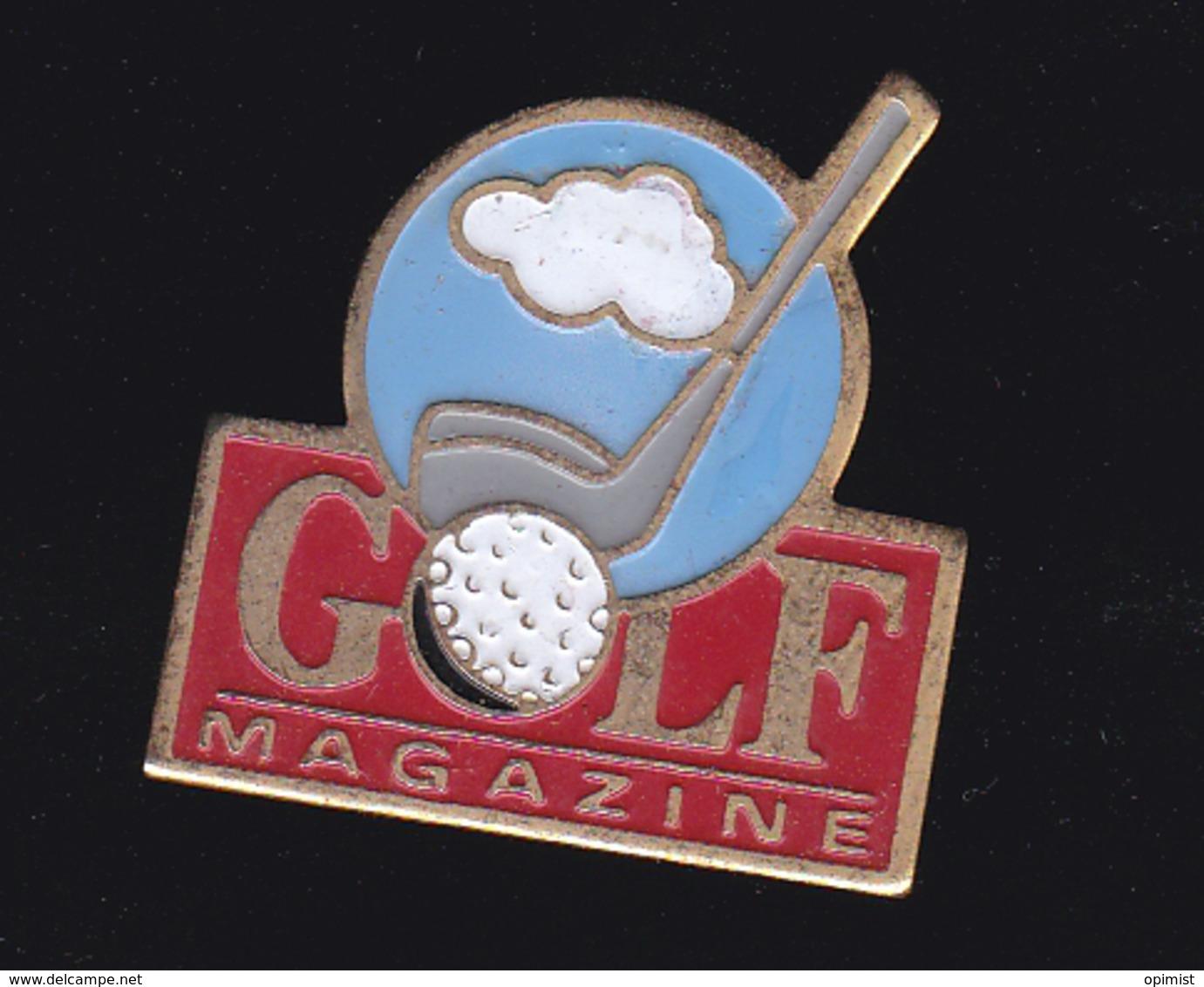 60034-pin's  Golf Magazine.Presse.journal..... - Golf