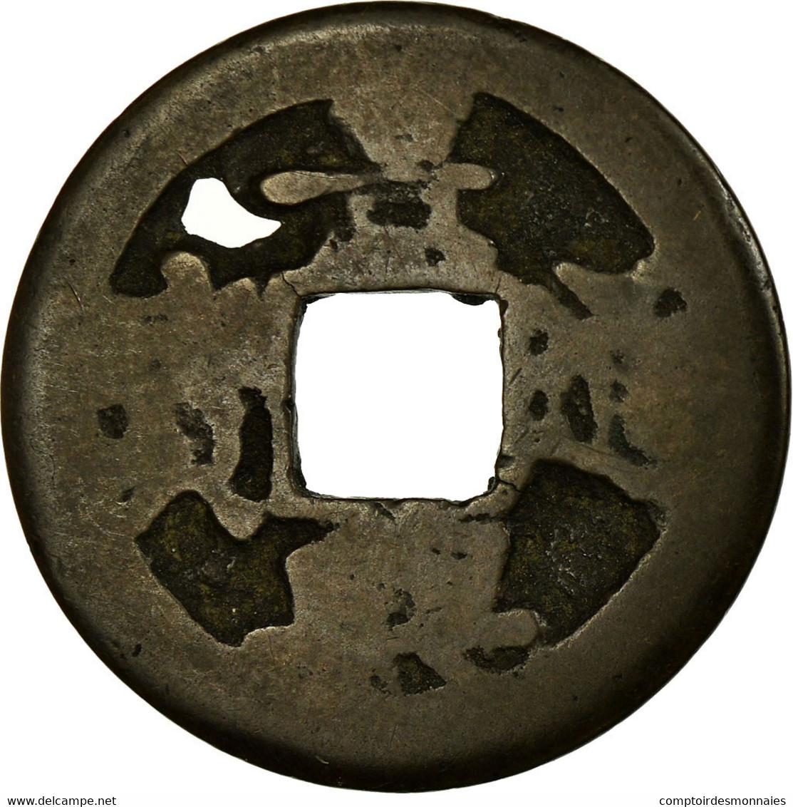 Monnaie, Viet Nam, Cash, 1740-1787, B+, Cuivre - Viêt-Nam