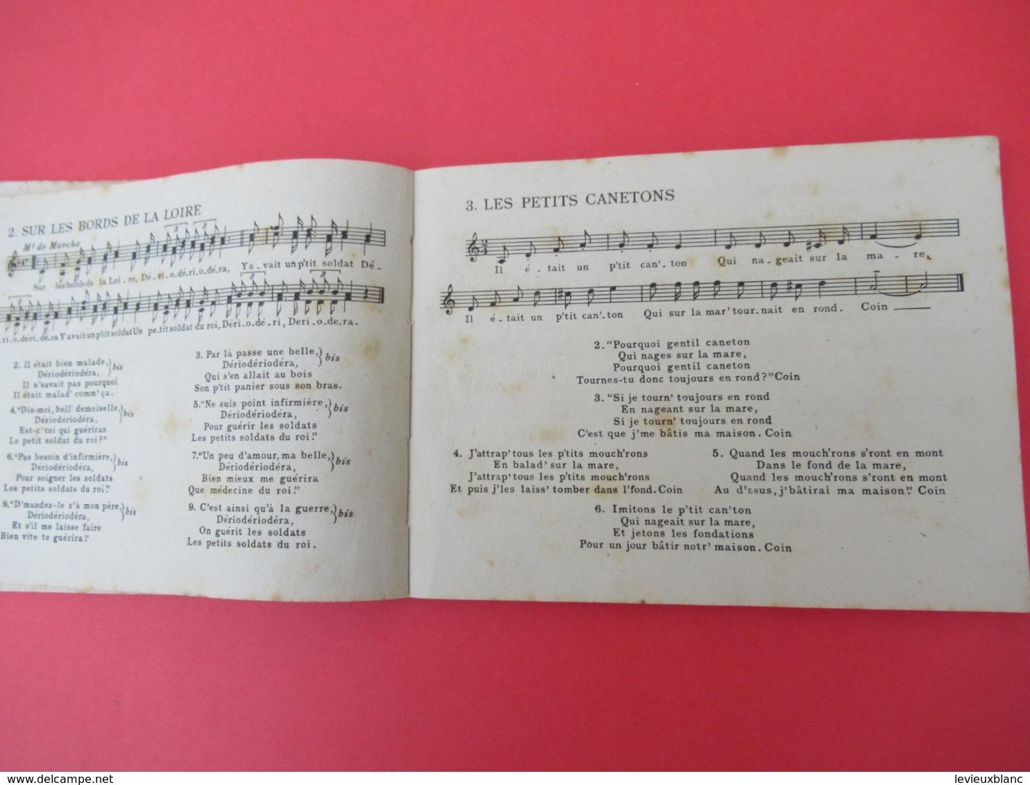 Livre De Chants / JOIES/ Chansons Inédites De Francine COCKENPOT/Ed Du Seuil//1950           PART273 - Music & Instruments