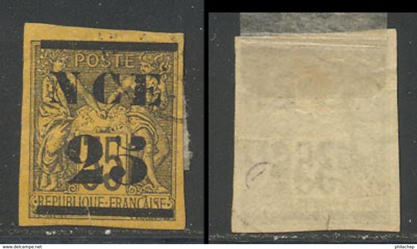 Nouvelle-Caledonie 1881 Yvert 4 (o) B Oblitere(s) - Nueva Caledonia