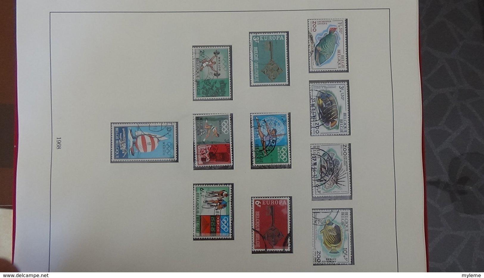 Collection  De Belgique . A Saisir !!! - Sammlungen (im Alben)