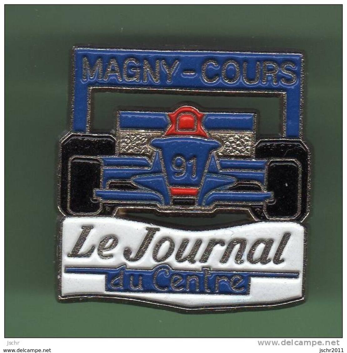 F1 *** MAGNY-COURS 91 *** LE JOURNAL DU CENTRE *** 1047 - Automobile - F1
