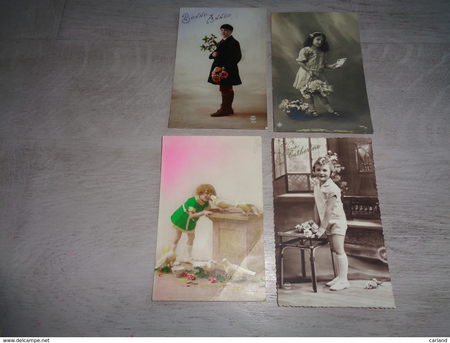 Beau Lot De 60 Cartes Postales De Fantaisie Enfants  Enfant      Mooi Lot Van 60 Postkaarten Van Fantasie Kinderen  Kind - Cartes Postales