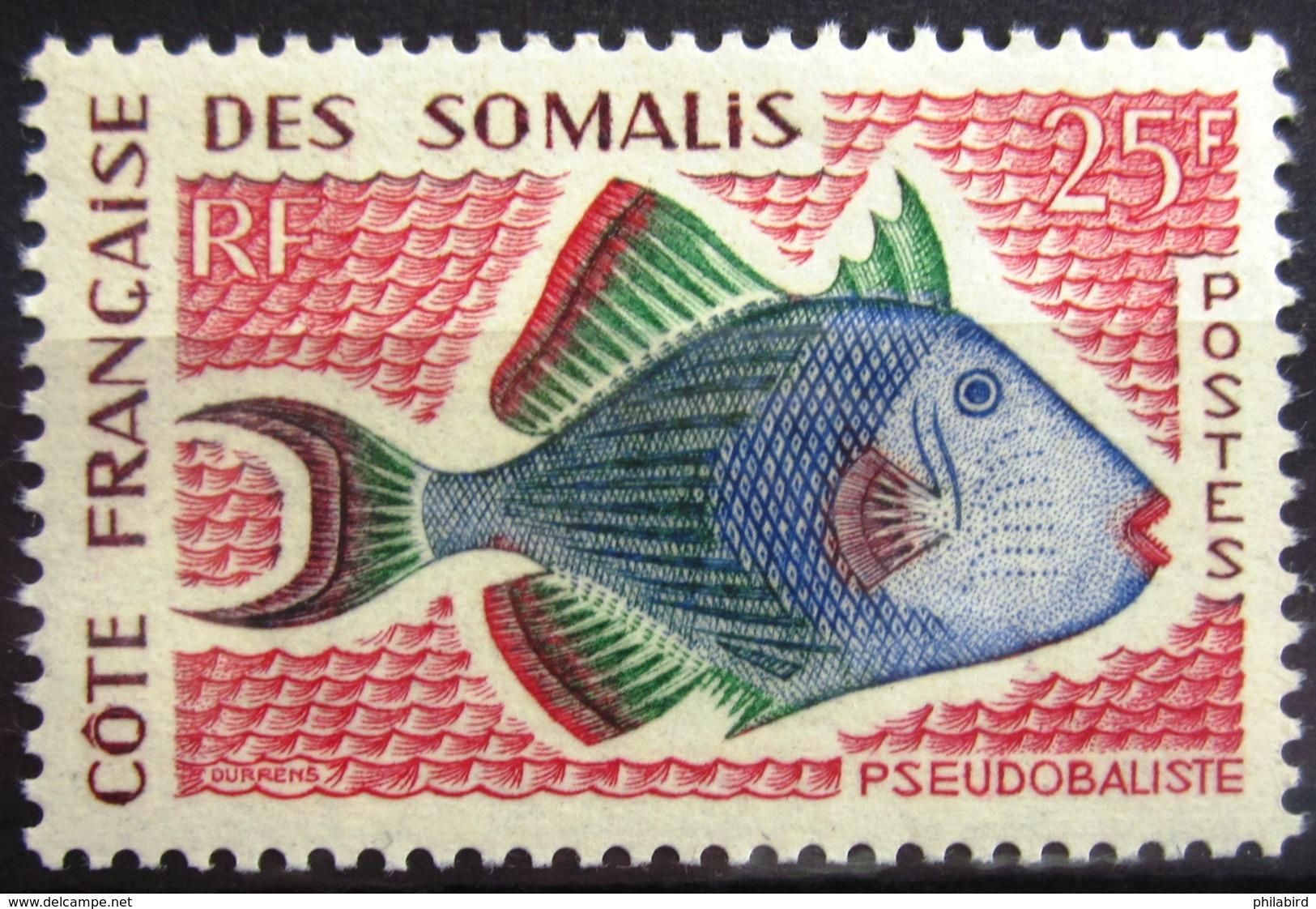 COTES DES SOMALIS                   N° 300                    NEUF** - Neufs