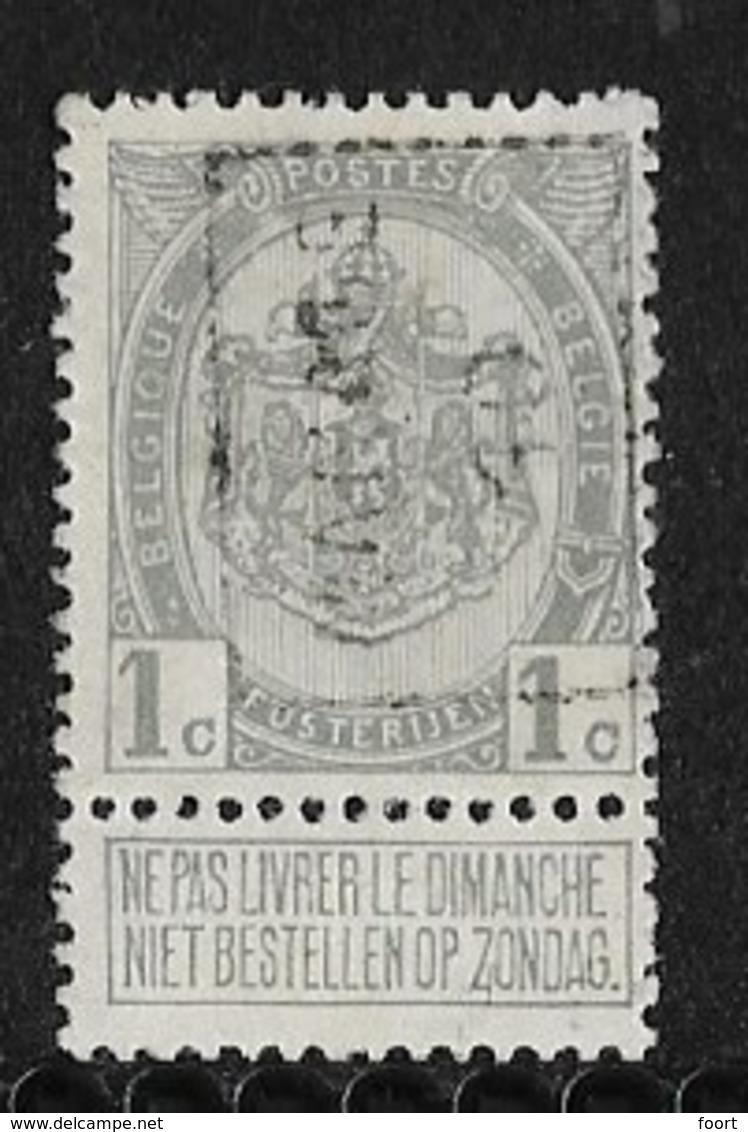 Manage 1910  Nr. 1464A - Precancels