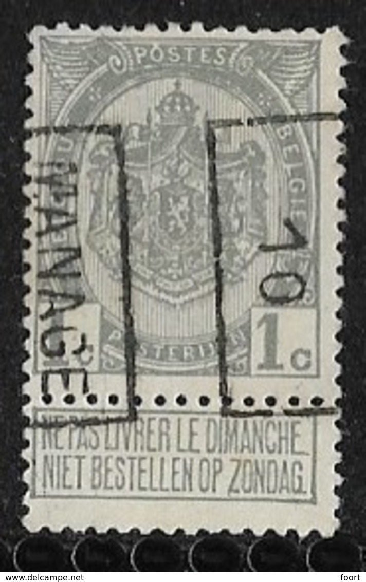 Manage 1910  Nr. 1464B - Roller Precancels 1910-19