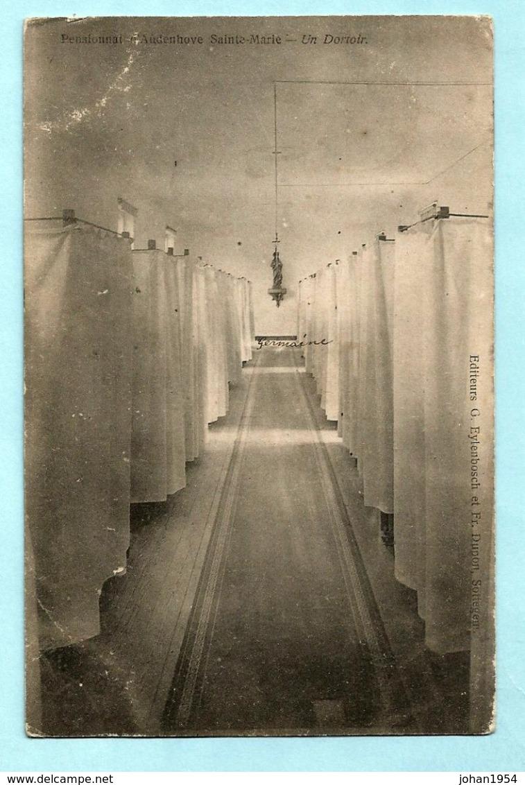 N°56 Op Postkaart, Griffe ERWETEGEM Via SOTTEGHEM 1905 Naar Ertvelde - Marcophilie