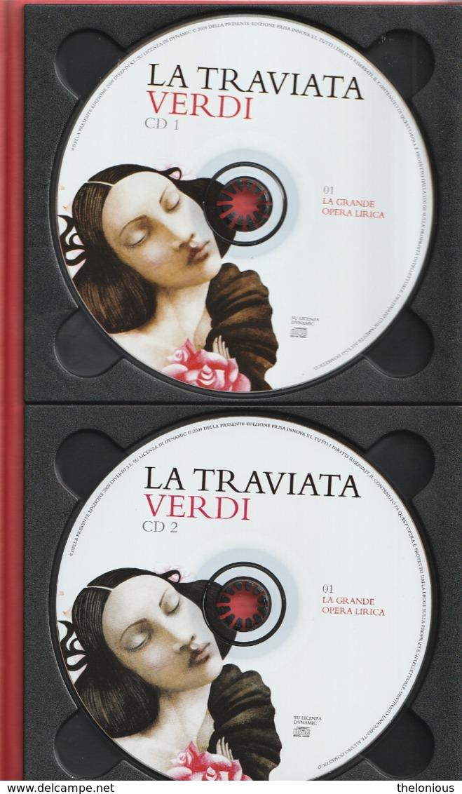 """# Giuseppe Verdi """"La Traviata"""" 2 CD - Con Libretto (vedi Foto) - Oper & Operette"""