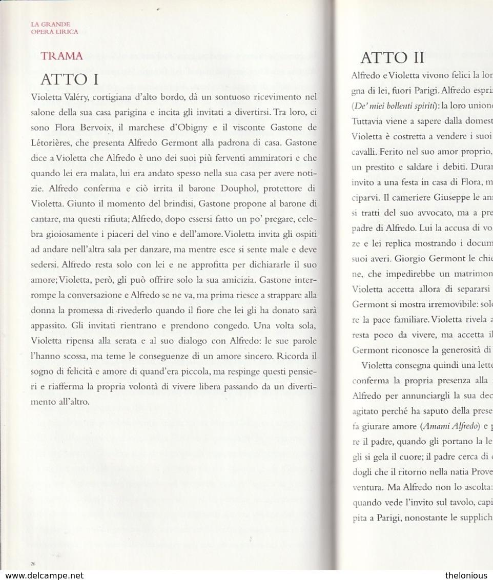 """# Giuseppe Verdi """"La Traviata"""" 2 CD - Con Libretto (vedi Foto) - Opere"""