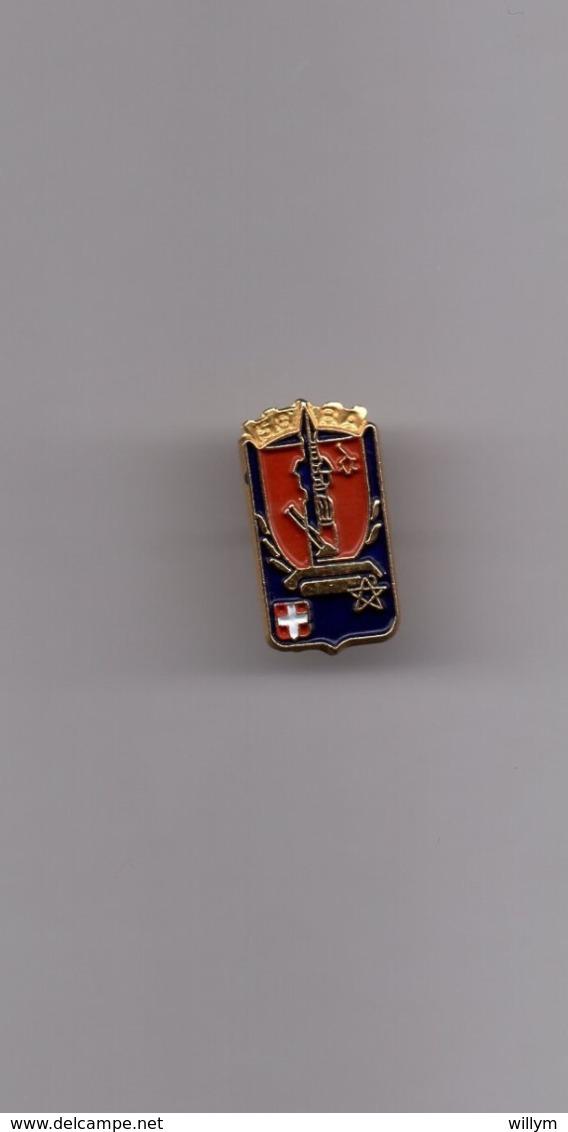 Pin's Armée / Insigne 58ème RA Régiment Artillerie (base Dorée) Hauteur: 1,8 Cm - Militaria