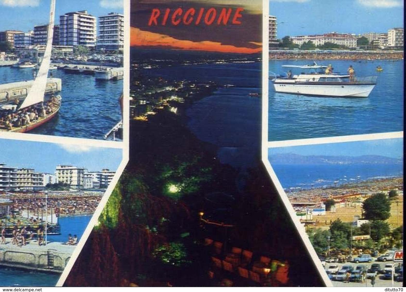 Riccione - Formato Grande Viaggiata – E 13 - Rimini