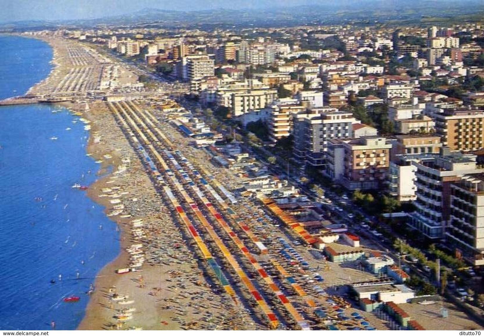Riccione - Panorama Aereo - 33 - Formato Grande Viaggiata – E 13 - Rimini