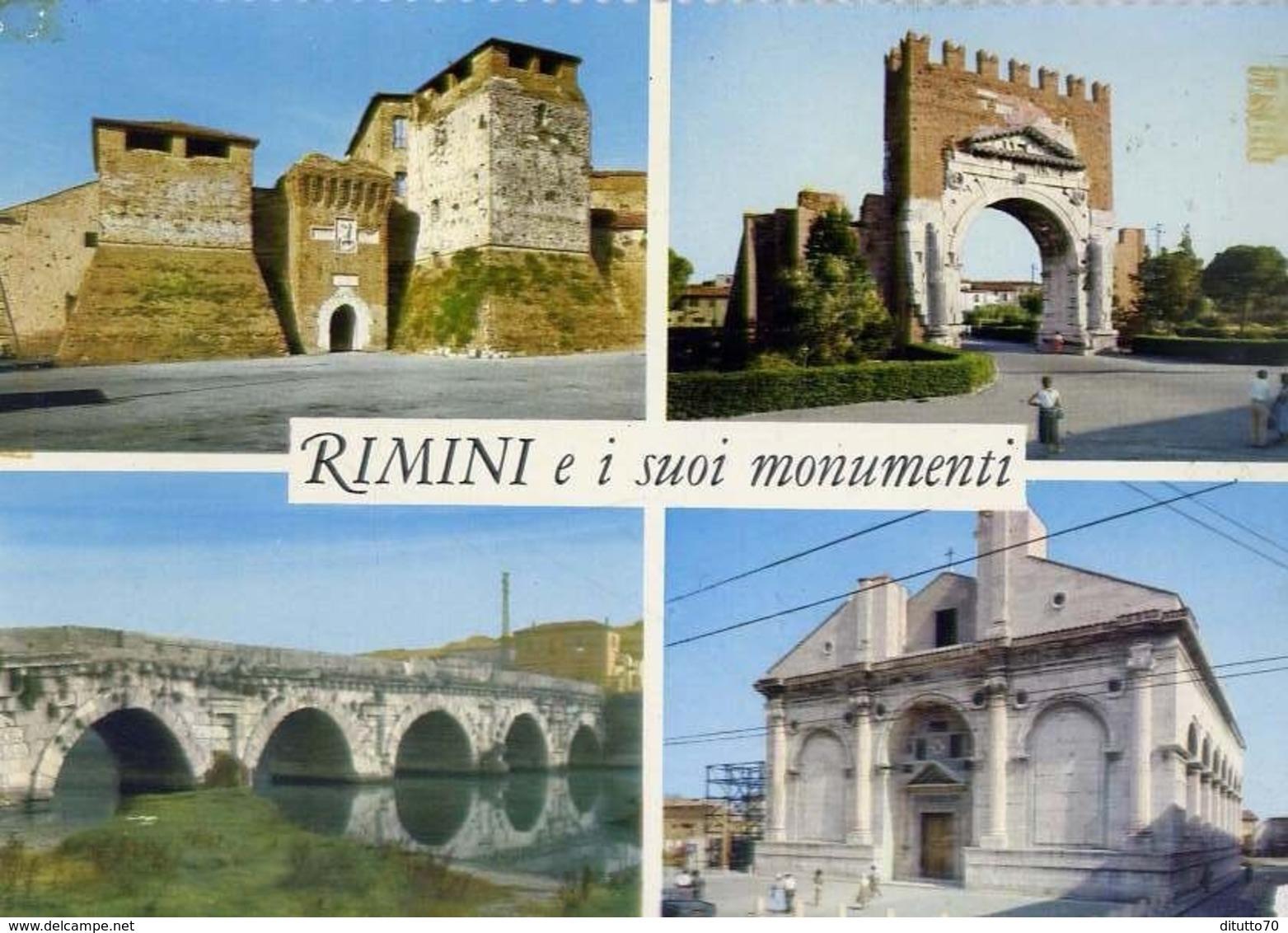 Rimini - E I Suoi Monumenti - 512 - Formato Grande Non Viaggiata – E 13 - Rimini