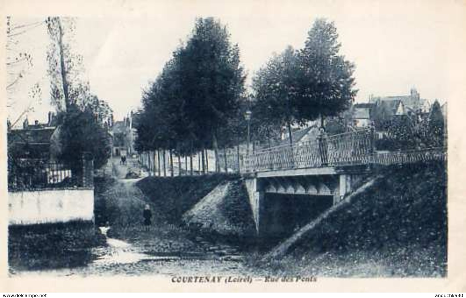 45- COURTENAY RUE DES PONTS - Courtenay