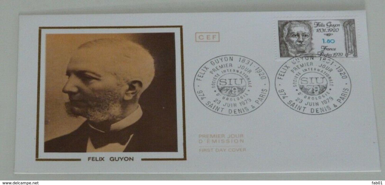 Enveloppe 1er Jour: Felix Guyon, 1979 - 1961-....