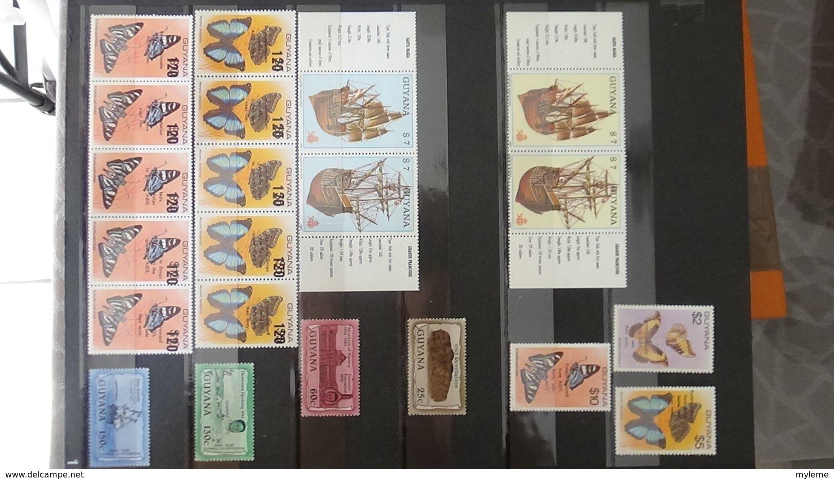 Belle Collection De GUYANE En Timbres Et Fins De Catalogue **. A Saisir !!! - Timbres